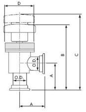 401321 - KF25 Angle Valve
