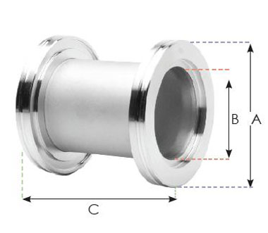 155941 - ISO 160 Full Nipple (SS)