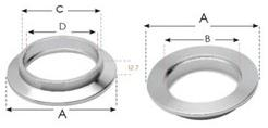 131351 - KF50 Socket Weld Flange (SS)