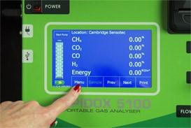 Rapidox 5100 Gas Analyser