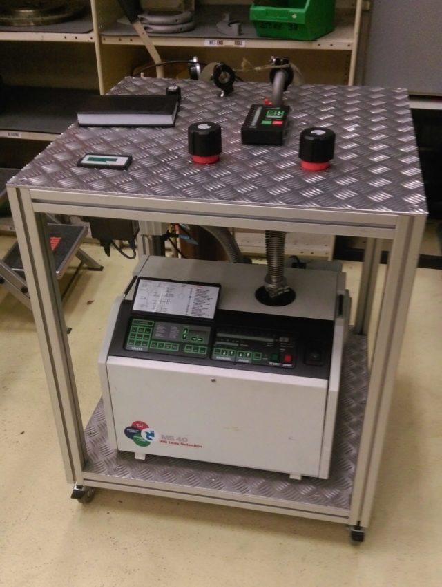 Custom Helium Leak Detector System