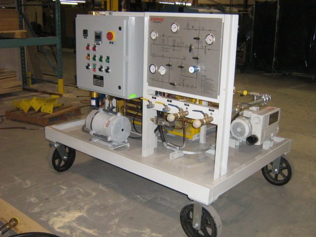 E736a SF6 Mobile Gas Cart