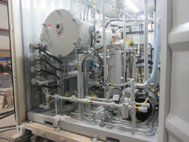Transformer Oil Degassing System
