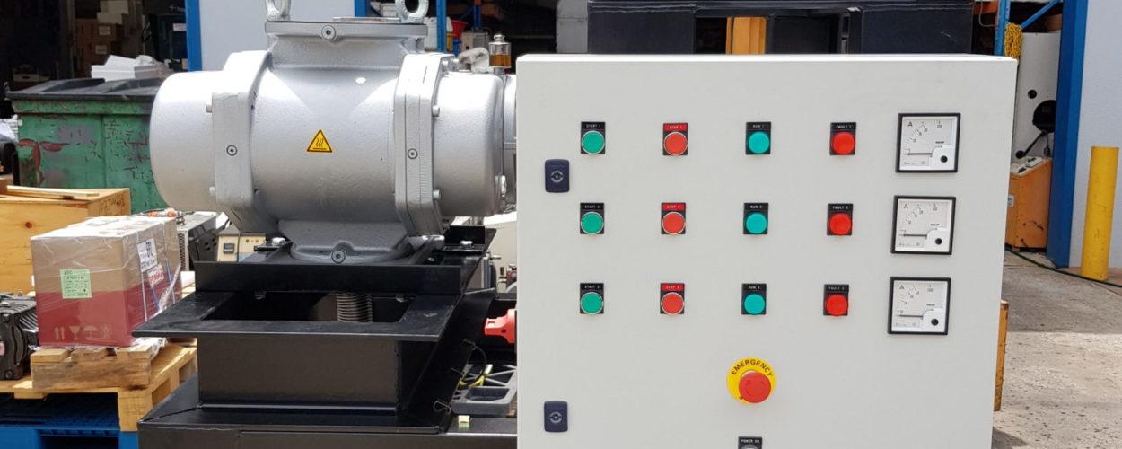 Vacuum Booster Pump System