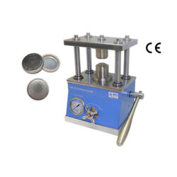 Hydraulic Crimper for All Types of Coin Cells with 100 Pcs CR2032